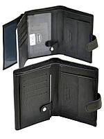 Большой мужской кожаный кошелек DR. BOND RFID M1 с защитой от считывания данных, фото 1