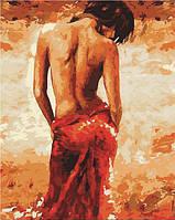 Картина раскраска по номерам на холсте - 40*50см Mariposa Q2088 Гармония