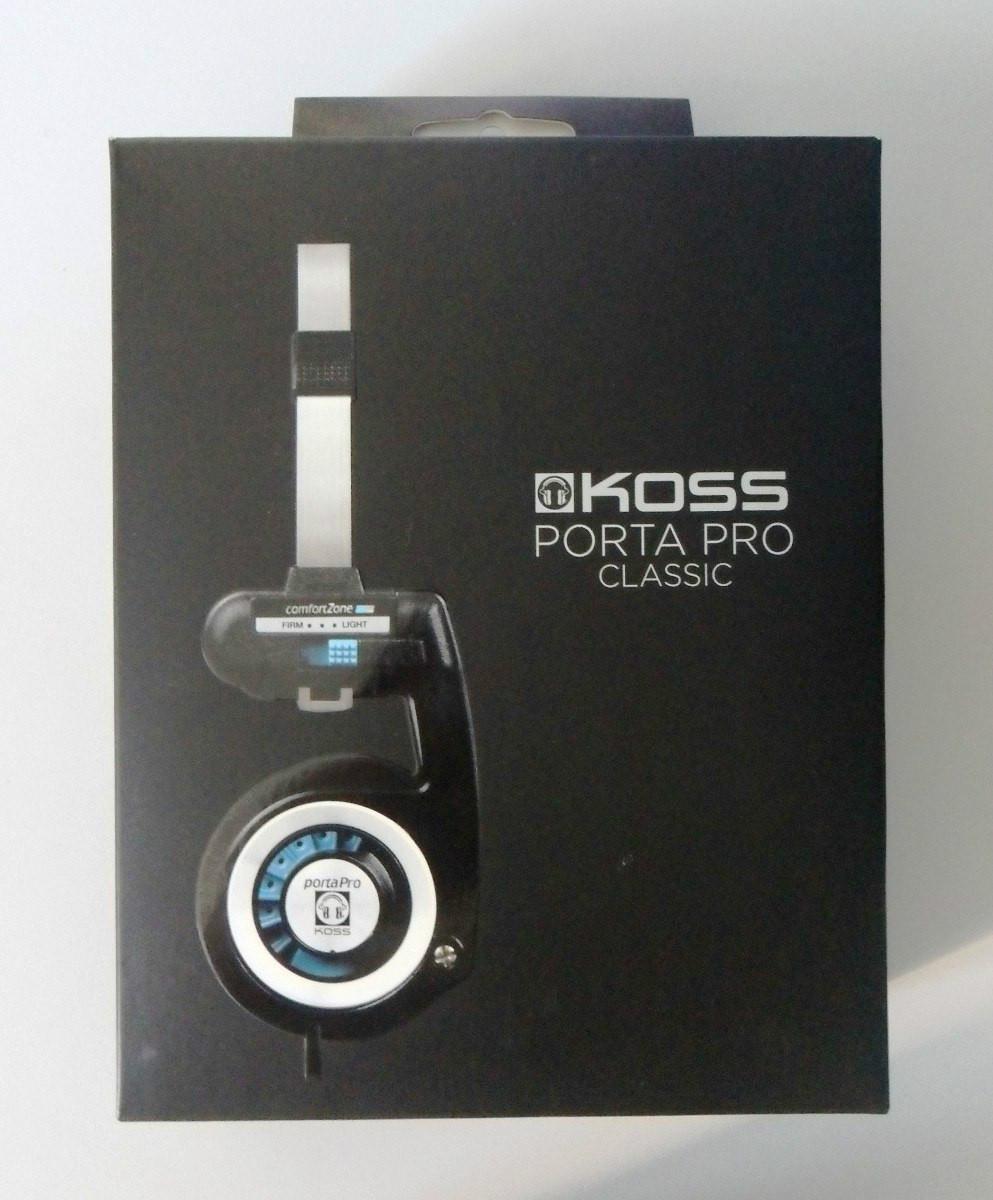 Наушники Koss Porta Pro коробка черная