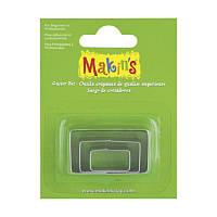 Набор каттеров Makins 3шт Прямоугольник 2118661041