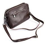 Небольшая женская сумка клатч из натуральной кожи в разных цветах, фото 6