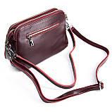 Небольшая женская сумка клатч из натуральной кожи в разных цветах, фото 8