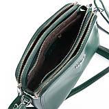 Небольшая женская сумка клатч из натуральной кожи в разных цветах, фото 9