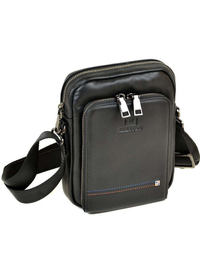 Мужская кожаная сумка - планшет Bretton 3430