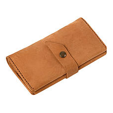 Кожаный кошелек Promin Песочный, фото 2