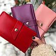 Кожаный кошелек Promin Розовый, фото 2