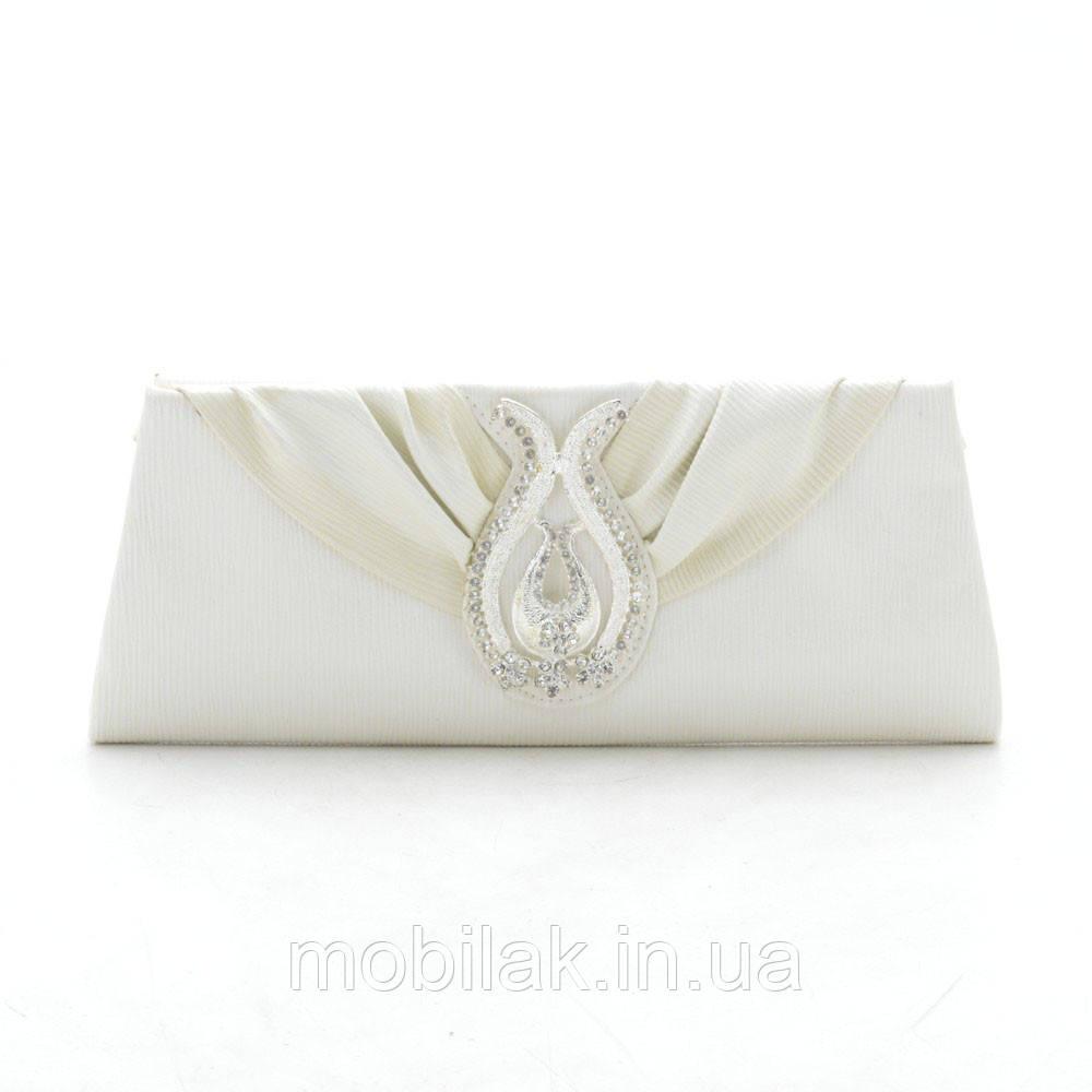 Вечерний клатч KJY632208 white (белый/крем)