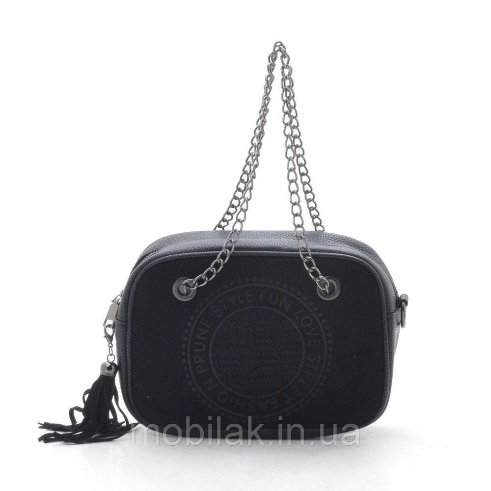 Клатч 198-1 black (черный)
