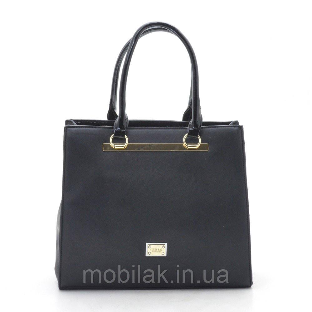 Женская сумка 8729 black (черная)