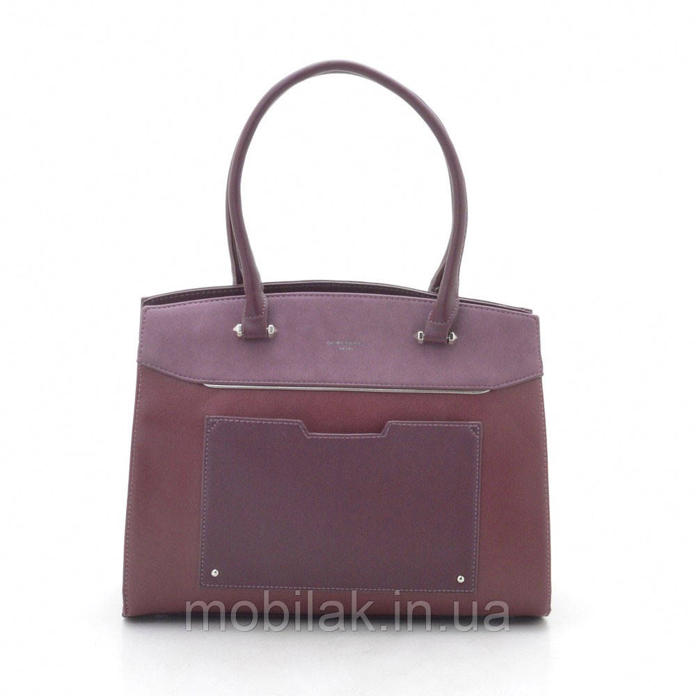 Женская сумка David Jones CM3932 d. bordeaux (бордо)