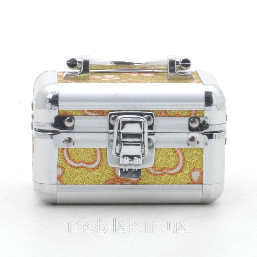 Шкатулка для украшений LH001 №2 желтая