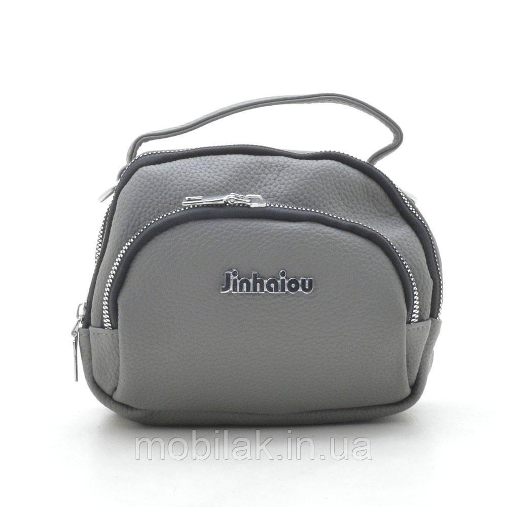 Клатч 8628 grey