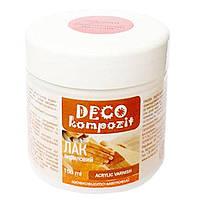 Лак акриловый Deco Kompozit 150 мл шелковисто-матовый 743304