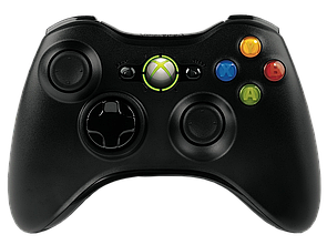 Microsoft Xbox 360 Wireless Controller Black OEM (Б/В)