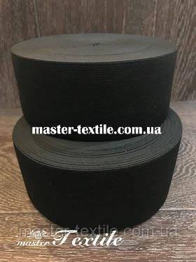 Резинка эластичная, 80мм, 25 метров,черная