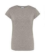 Женская футболка JHK COMFORT LADY темно-серый меланж (GM)