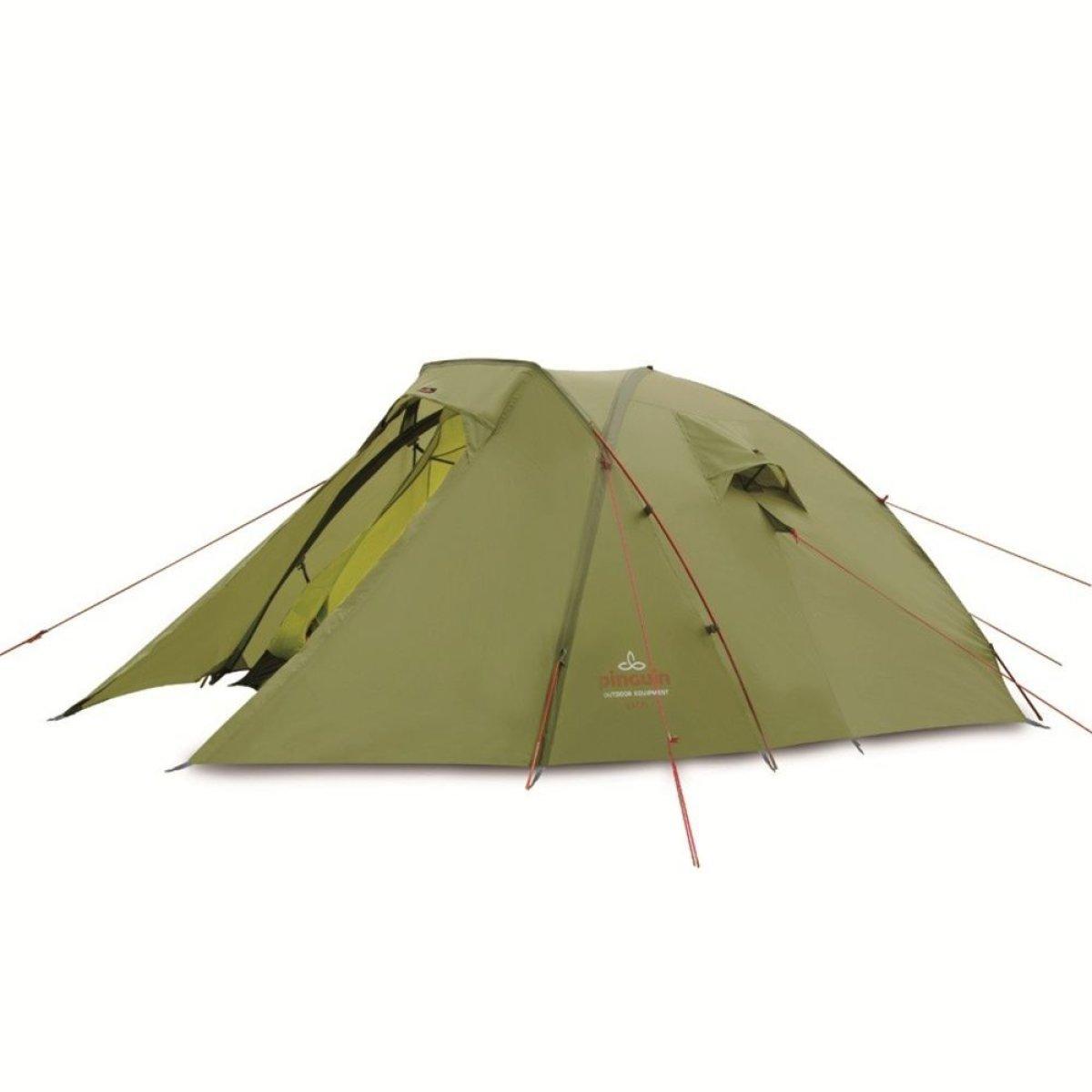Палатка Pinguin - Excel Green, 3 местная (PNG 120)