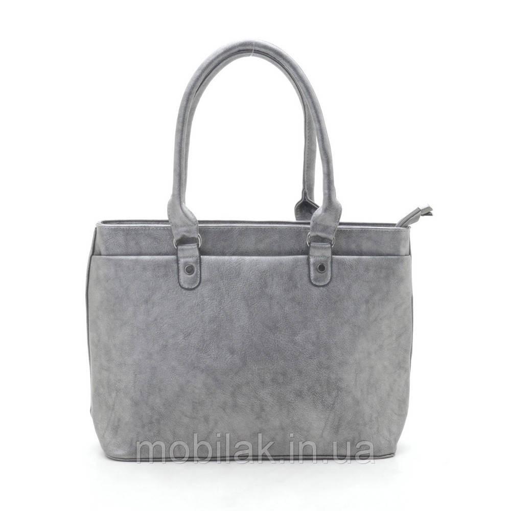 Женская сумка W12 серая