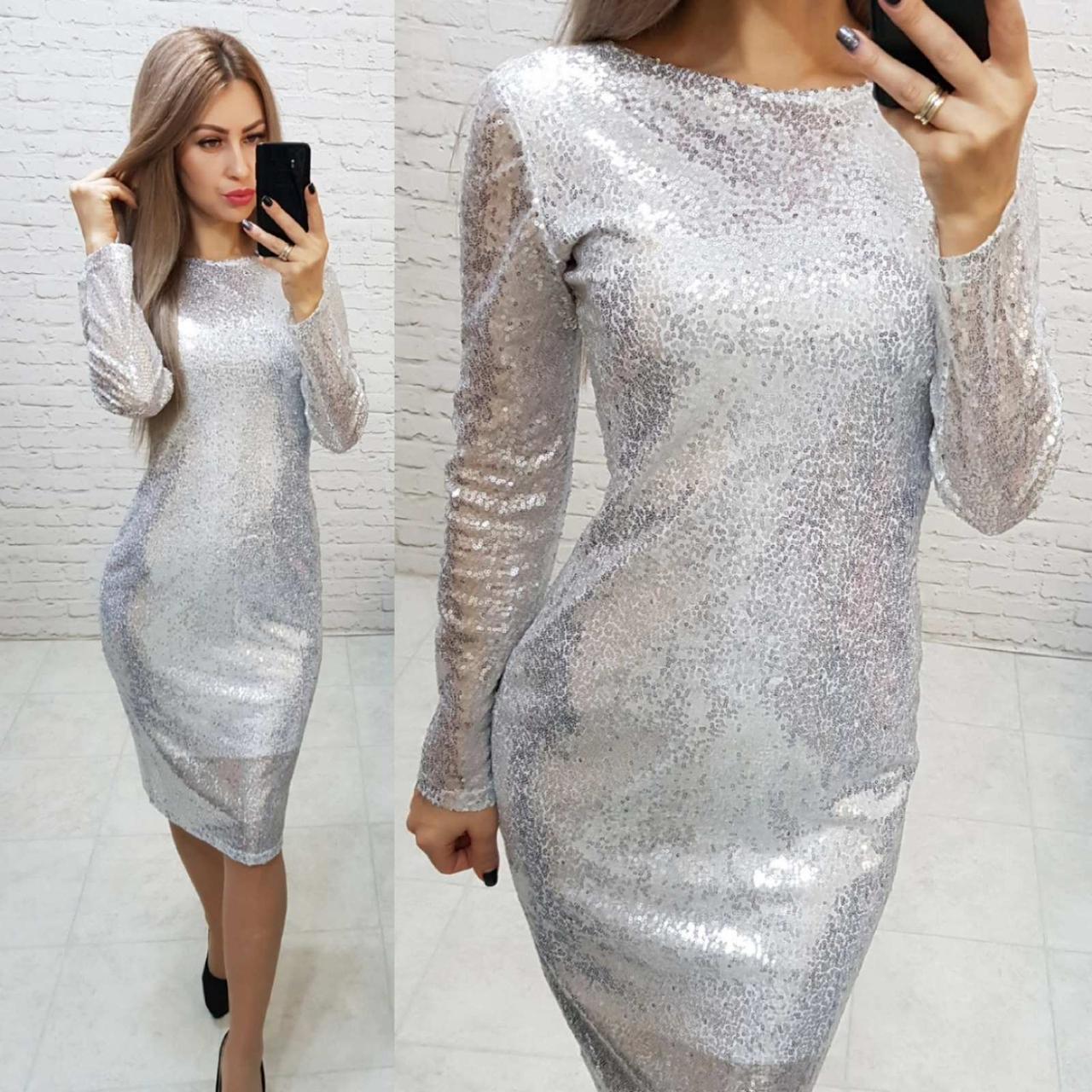 Ошатне жіночна сукня з відкритою спинкою, арт 184, білого кольору, колір білий