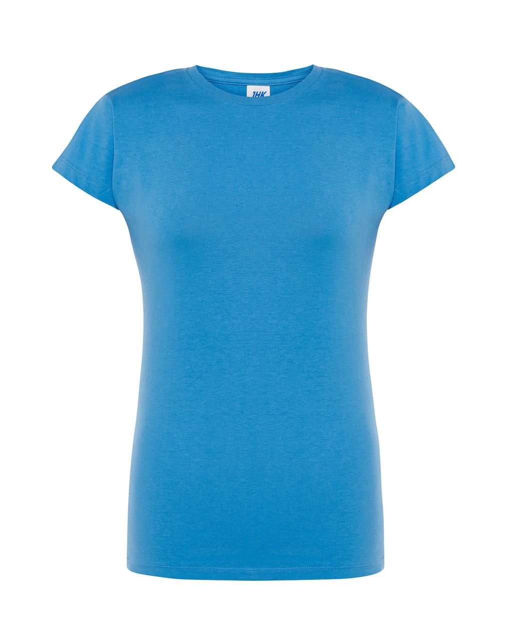 Женская футболка JHK COMFORT LADY темно-голубой (AZ)