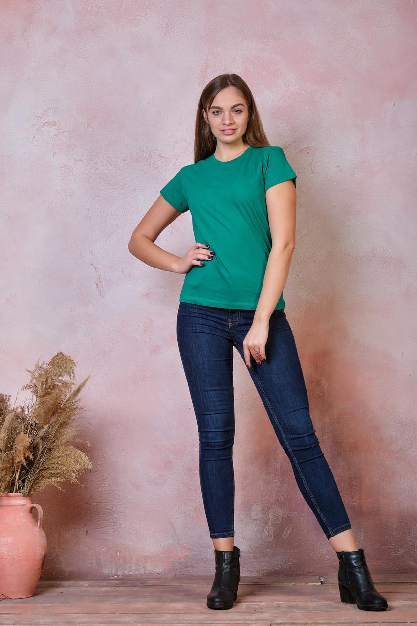 Женская футболка JHK COMFORT LADY цвет зеленый (KG)