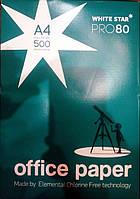 Бумага А-4, 80г/м2, 500 листов