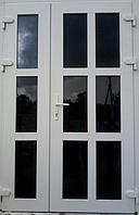 Двух-створчатые Пластиковые входные двери Steko 1200*2050, фото 1