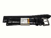 Ремешок Swiss для часов 18 мм черный