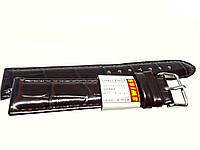 Ремешок Swiss для часов 18 мм Коричневый опт