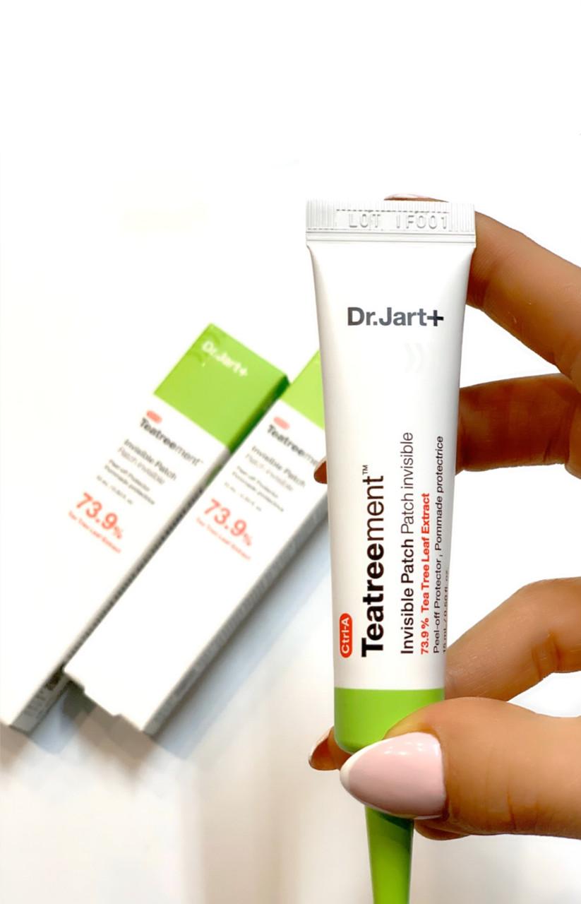 Рідкі патчі від прищів на основі гелю для проблемної шкіри Dr.Jart+ Teatreement Invisible patch
