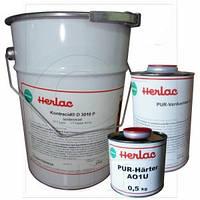 Паркетный лак HERLAC KONTRACID D 3010 P шелковисто-матовый комплект 27,5л