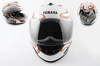 Шлем-интеграл   (mod:HAWK) (size:L, белый) Ш15   YMH