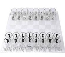 Игровой алкогольный набор 2в1 шахматы и шашки (35х35 см)