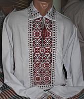 """Чоловіча вишивана сорочка """"Захар"""", фото 1"""