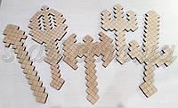 Набір розмальовка - моди Minecraft (набор раскраска - моды Майнкрафт), фото 1