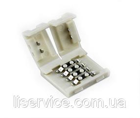 Коннектор для RGB светодиодных лент 5050/5630  IP33 4PIN