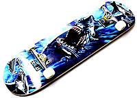 "СкейтБорд деревянный от  gs-game ""Акула"""