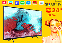 "Телевизор Samsung 24""  Smart TV, Wi-Fi, Самсунг, Смарт"