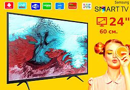 "Телевизор Samsung 24""  Smart TV, Wi-Fi, Самсунг, Смарт"