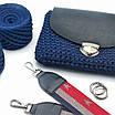 Набор конструктор для вязания крючком сумки кросс боди с плечевым ремнем «MY LITTLE BAG», фото 2