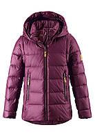 Зимняя пуховая куртка - жилетка для девочек Reima Minna 531346.9-4960. Размеры 104 - 164., фото 1