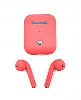 Беспроводные Bluetooth наушники с кейсом V5.0 I9F XS Red - 223339