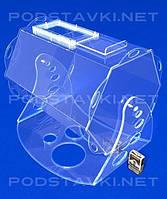 Лототрон объем 62 литра, акрил 8, габариты (ШхВхГ) 540х460х425 мм (PR-18)