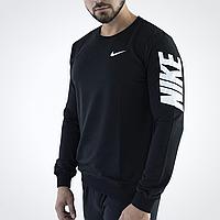 Свитшот мужской Nike толстовка черная мужская