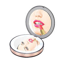 Карманное зеркало для макияжа с Led подсветкой CM2 - 223330