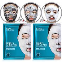 Пузырьковая маска на тканевой основе Images Bubbles Amino Acid (25г)
