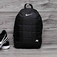 Рюкзак городской, спортивный рюкзак Nike Air, найк. Черный (Реплика)