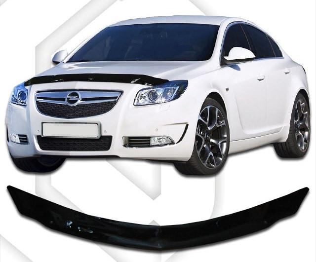 Дефлектор капота  Opel Insignia с 2008,  Мухобойка Opel Insignia
