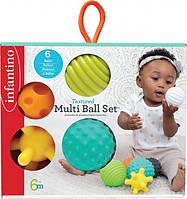 Сенсорные тактильные мячики Infantino, фото 1