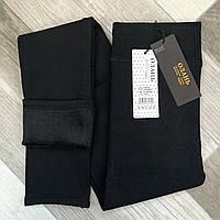 Лосины термо женские бесшовные на меху Олань, размер XL-5XL (48-54), чёрные, 6130